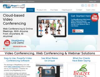 affiliate.megameeting.com screenshot