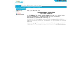 affiliate.myngle.com screenshot
