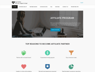 affiliate.positivesingles.com screenshot
