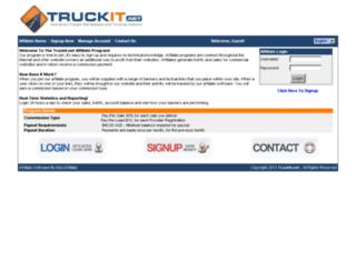 affiliate.truckit.net screenshot