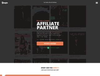 affiliate.yumpu.com screenshot