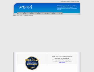 affiliateclicks.com screenshot