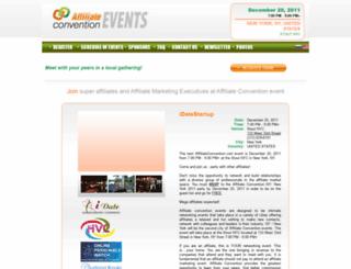 affiliateconvention.com screenshot