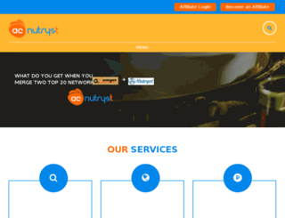 affiliatecrossing.com screenshot
