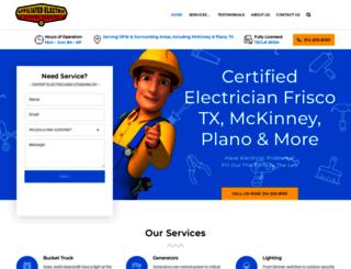 affiliatedelectric.com screenshot
