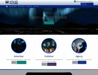 affiliatefuture.co.uk screenshot