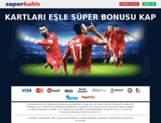 affiliatelanding.superbahis127.com screenshot