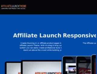 affiliatelaunchtheme.com screenshot