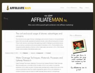 affiliateman.nl screenshot
