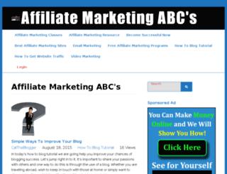affiliatemarketingabcs.com screenshot