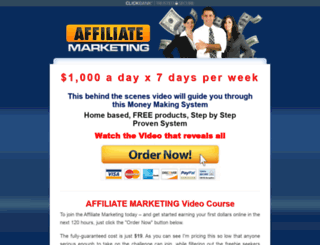 affiliatemoneypot.com screenshot