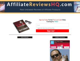 affiliatereviewshq.com screenshot