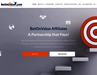 affiliates.betonvalue.com screenshot