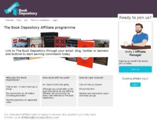 affiliates.bookdepository.co.uk screenshot
