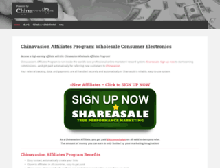 affiliates.chinavasion.com screenshot