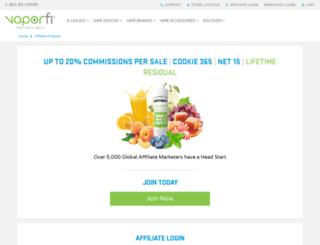 affiliates.eversmoke.com screenshot