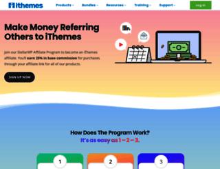 affiliates.ithemes.com screenshot