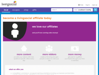 affiliates.livingsocial.com screenshot