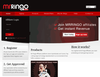 affiliates.mrringoaffiliates.com screenshot