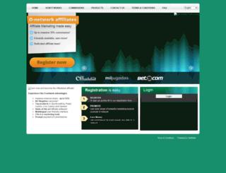 affiliates.o-networkaffiliates.com screenshot