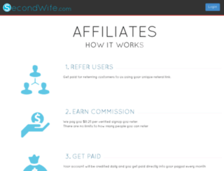 affiliates.secondwife.com screenshot