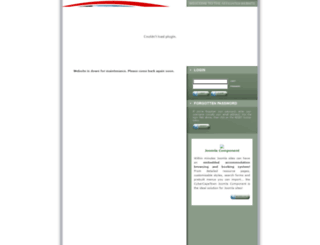 affiliates.securebooking.org screenshot