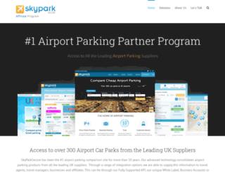 affiliates.skyparksecure.com screenshot