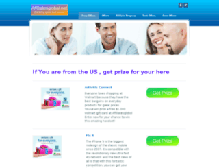 affiliatesglobal.net screenshot