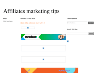 affiliatesmaker.blogspot.com screenshot