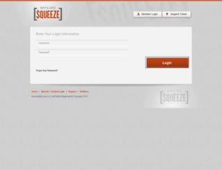 affiliatesqueeze.com screenshot