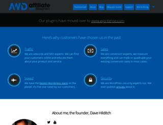 affiliatewebdesigners.com screenshot