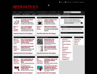 affiliatex3.blogspot.com screenshot