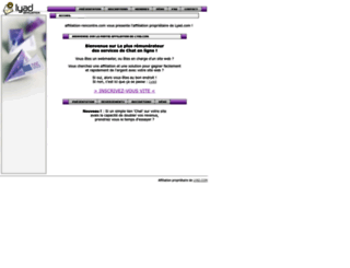 affiliation-rencontre.com screenshot