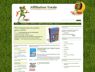 affiliationtotale.com screenshot