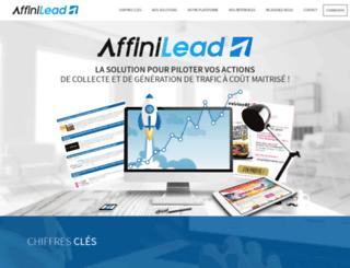 affinilead.com screenshot