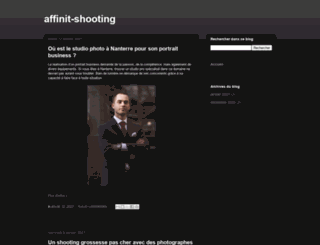 affinit-shooting.com screenshot