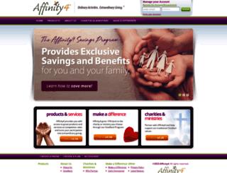 affinity4.com screenshot