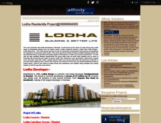 affinitybangalore.over-blog.com screenshot