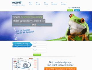 affinitypayments.com screenshot