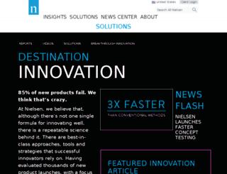 affinnova.com screenshot
