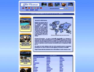 affitti-di-vacanza.it screenshot