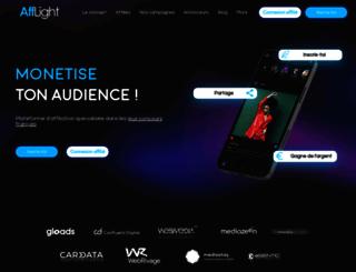 afflight.fr screenshot