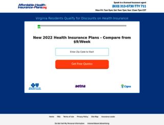 affordable-health-insurance-plans.org screenshot