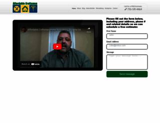 affordablecraftsmen.net screenshot