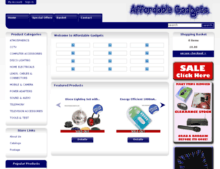 affordablegadgets.com screenshot