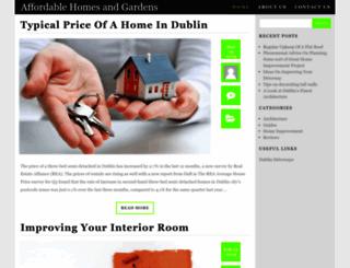 affordablehome.ie screenshot