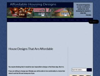 affordablehousingdesigns.com screenshot
