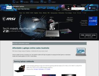 affordablelaptops.com.au screenshot