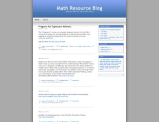 affordablemathtutoring.wordpress.com screenshot
