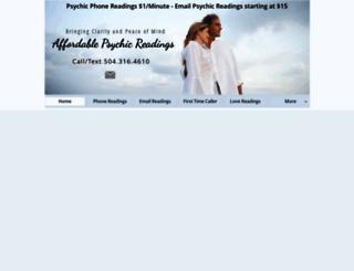 affordablepsychicreadings.com screenshot